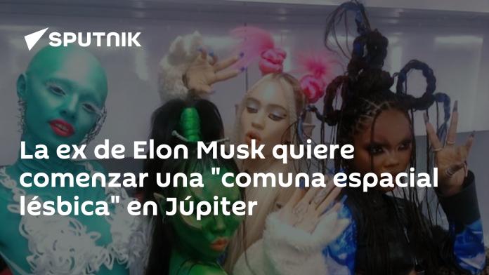 Elon Musk's ex-husband wants to start a 'Lesbian Space Society' on Jupiter