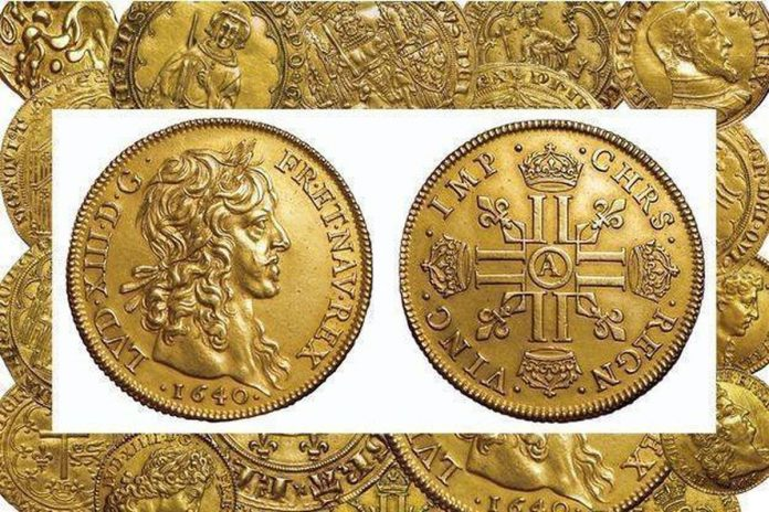 One million euros at auction to sell Louis d'Or treasure found in a palace