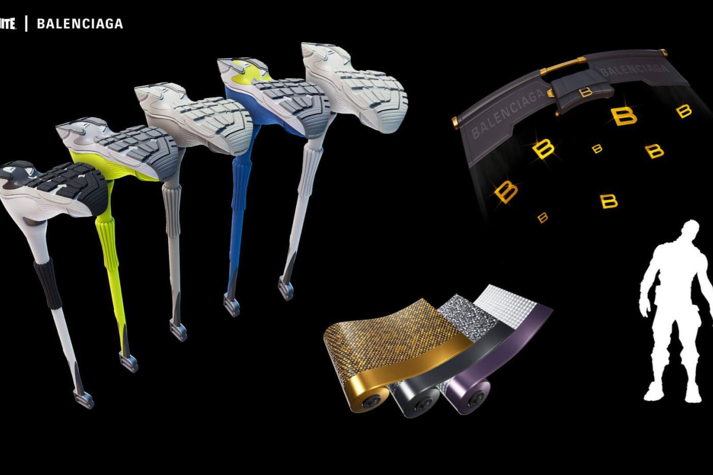 Fortnite Balenciaga Ax Attachments