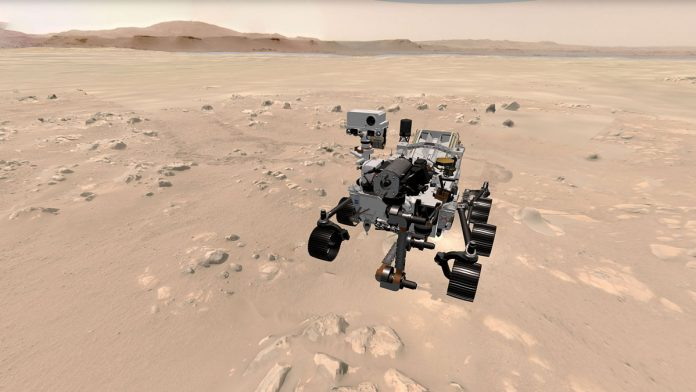 NASA introduces you all to persevere on the Mars craft