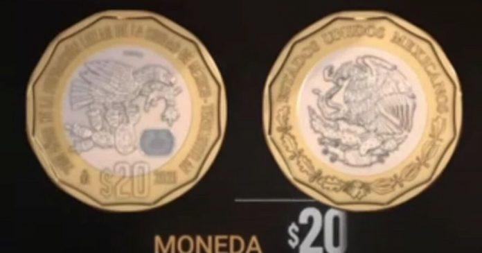 New commemorative coins of 20 and 10 pesos are already in circulation: Banco de México