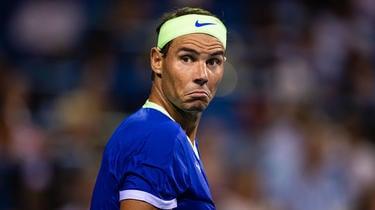 Rafael Nadal ended his season with a foot injury.