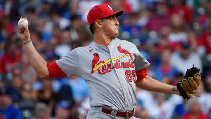 Saving 13 Giovanni Gallegos with the Cardinals in 2021 |  MLB