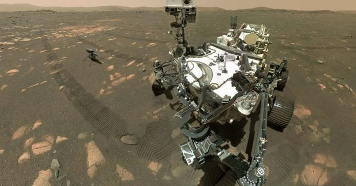 The persistent rover finally managed to extract samples from a rock on the surface of Mars