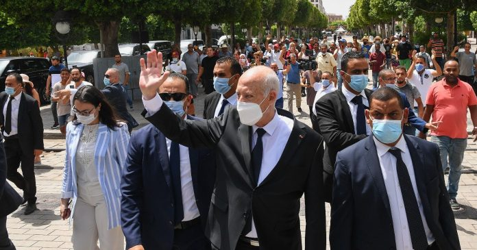 Tunisia and the silent coup of President Kais Saied: full powers, irrevocable decrees and amendments to the constitution