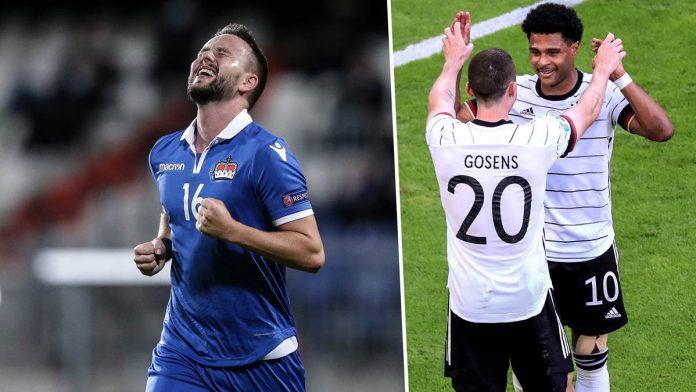 Live im TV und Online-Stream: So seht ihr das WM-Qualifikationsspiel zwischen Liechtenstein und Deutschland.