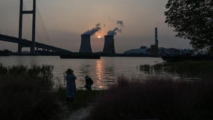 Centrale électrique au charbon de Wujing à Shanghai.