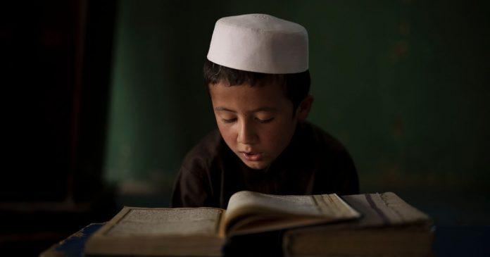 Life in a school in Kabul.  Associated Press