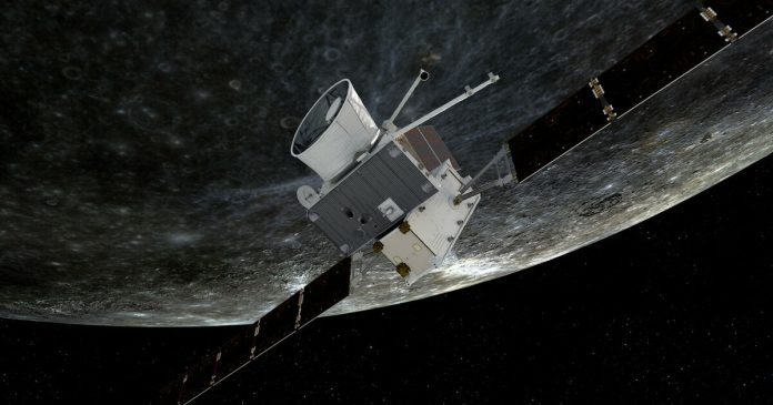 The BepiColombo probe begins its search on Mercury - Liberation