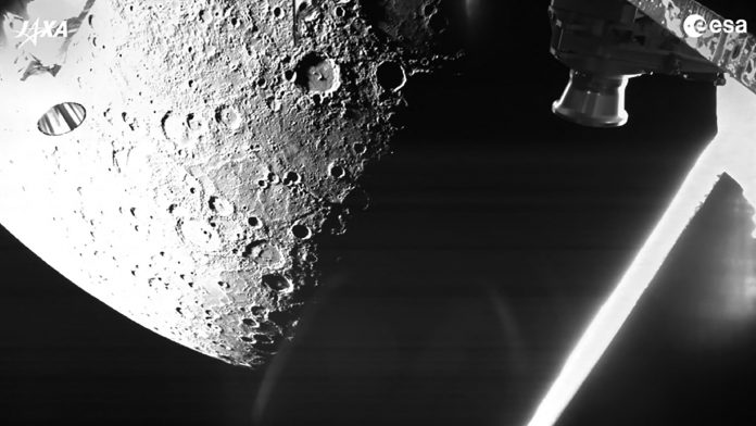 The BepiColombo satellite captured its first image of Mercury