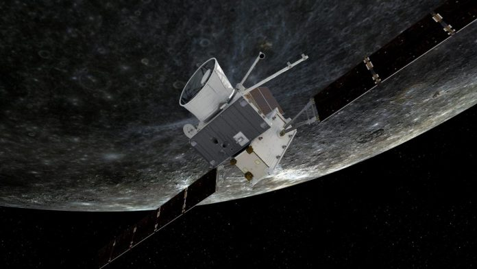 The European mission to the planet Mercury for the first time (photos)