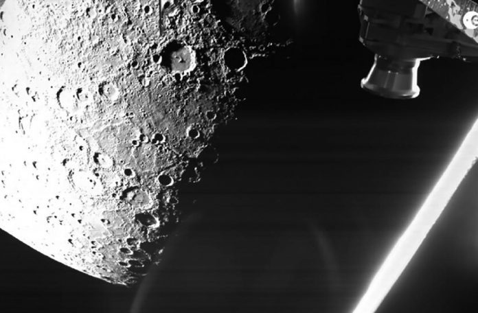 After three years of travel, the European probe BepiColombo sent the first image of Mercury