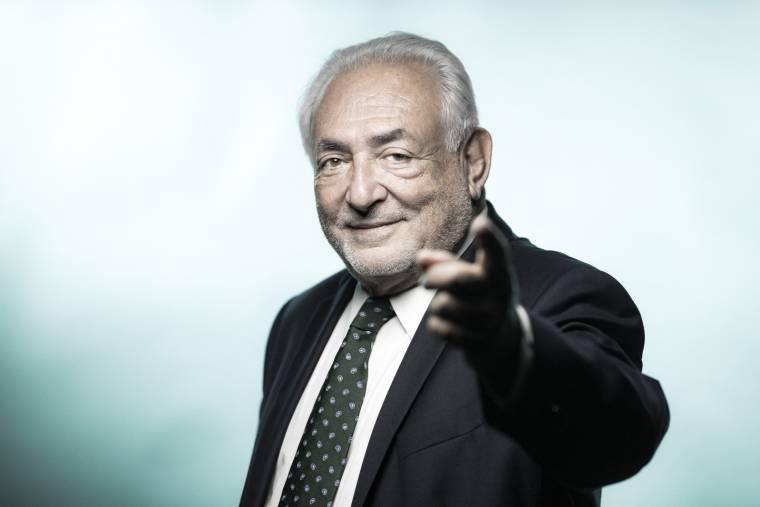 Dominique Strauss-Kahn, September 6, 2018 (AFP/JOEL SAGET)