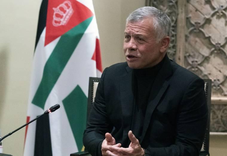 King Abdullah II, May 27, 2021 (Baraka/Alex Brandon)