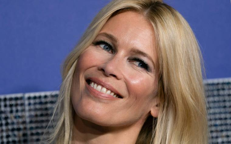 Claudia Schiffer, May 30, 2019 in New York (AFP / DON EMMERT)
