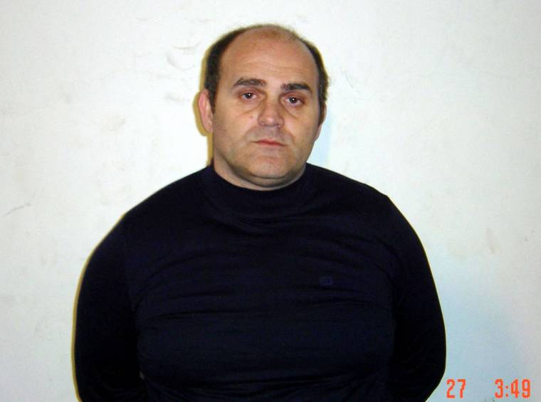 Raffaele Amato, 27 février 2005, in Naples.  (carabinere/hs)