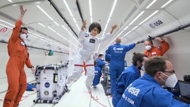 The European Space Agency has launched an astronaut Barbie inspired by Samantha Cristoforetti