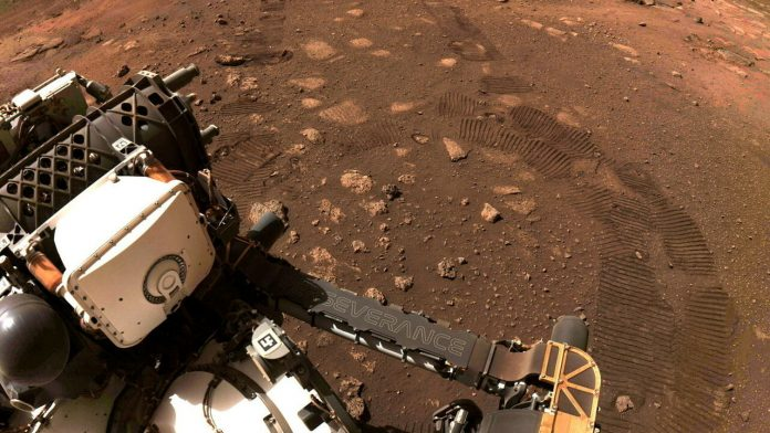 Perseverance robot confirms the existence of an ancient lake on Mars
