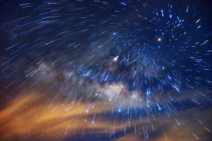 lluvia de estrellas Dracónidas