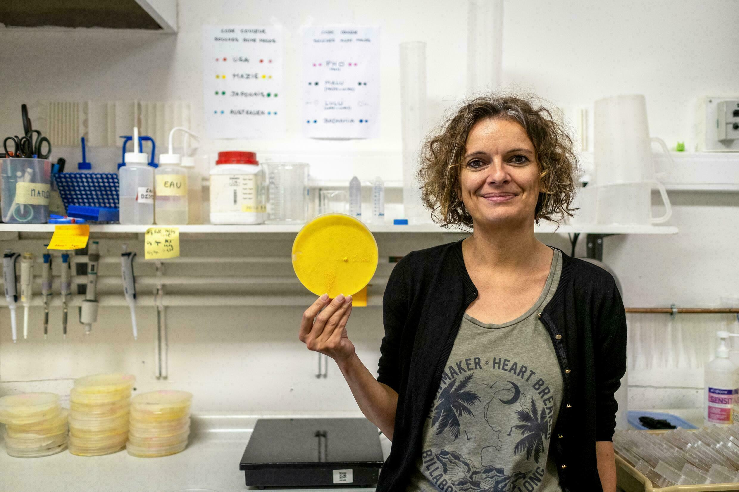 Audrey Dsautour in her laboratory in Toulouse, May 31, 2019