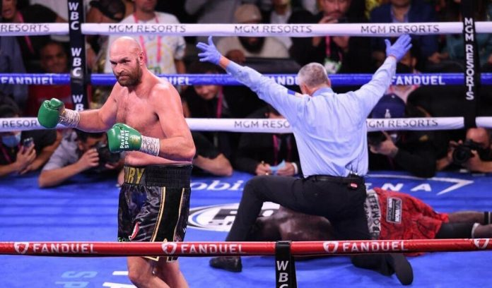 directly.  Wilder's Fury: Briton wins by KO and retains his WBC heavyweight belt.