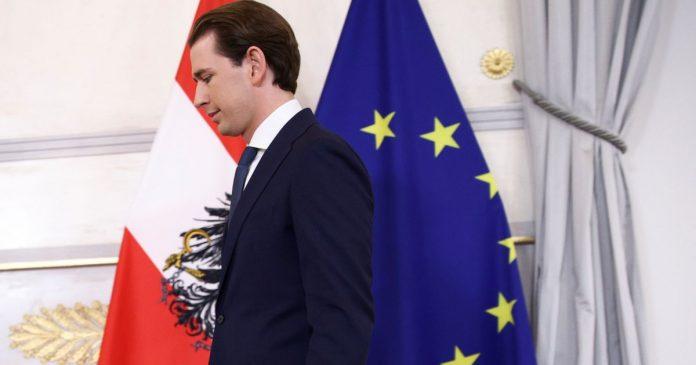 Austria: President Kurz beaten by corruption scandal