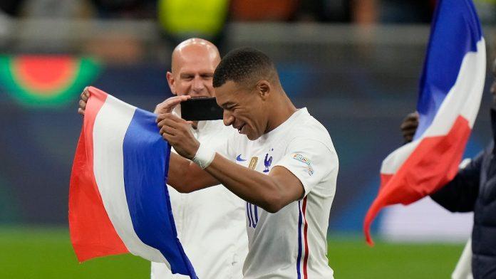 Mbappé Famous Hero: France won the League of Nations