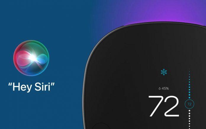 Le 1er thermostat connecté compatible avec Siri est celui d