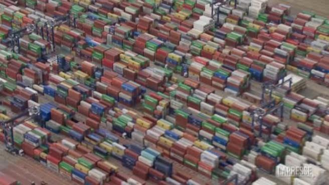Great Britain: a huge container traffic jam at the port of Felixstowe