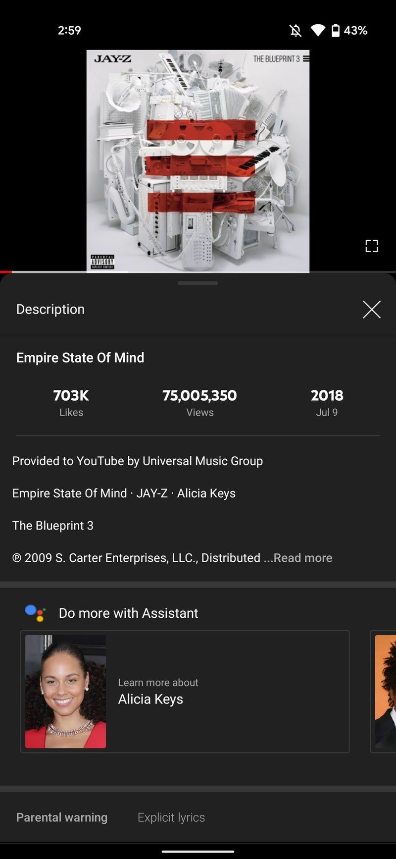 Google Assistant 925 YouTube integration